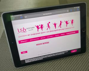 Symbolbild Internetseite ISB